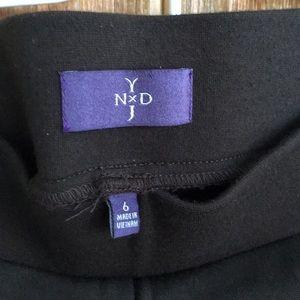 Brown stretchy NYDJ pants